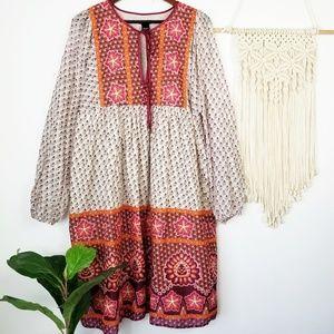 Moda International Peasant Dress